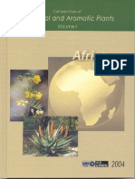 Compendium of Medicinal and Aromatic Plants- Africa (Vol. I)