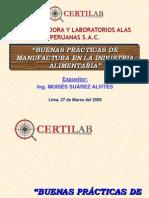 BPM Y HACCP - Curso Certilab