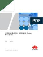 GSM-R HLR9820 V900R003 Feature Description V1.0(20090519) (1)