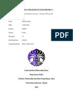 Laporan Praktikum Elektronika 1