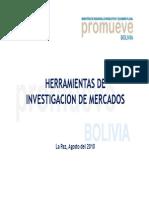 Herramientas de Investigacion de Mercados