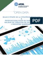 Propositions Open Data Afdel
