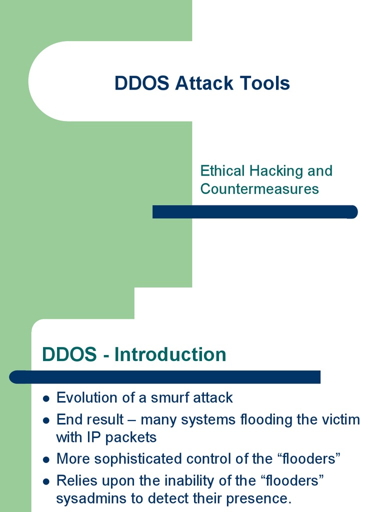 DDOS Attack Tools | Denial Of Service Attack | Transmission Control