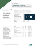 Comparativa de Productos Corporativos - Sophos