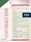 1997  Encuestas políticas y medios en Perú una convivencia conflictiva