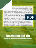 Las voces del rio. Relatos de la persecución política en Barillas