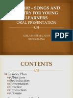 Oral Presentation LGA3102