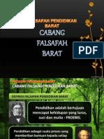Pengenalan Mzhab Falsafah Barat Slide 1