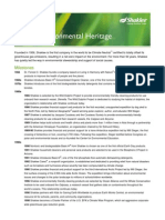 heritage sheet 2014