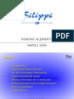 Presentazione Alessandro Placido Rower Boats