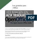 3 alternativas gratuitas para Microsoft Office.docx