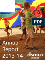2013-14 Annual Report for All Souls Church