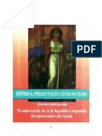 Republica Intelectuales y Lucha de Clases
