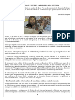 21 - 0 1 - 2014 La Iglesia Bajo Proceso - SANDRO MAGISTER