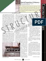 C CI SpecialInspecMasonry Latreille Sept07