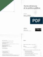 PAUL SABATIER- Teorías del Proceso de las Políticas Públicas