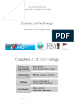 Coaches and Technology   Josy Verdonkshot