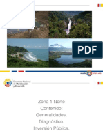 SENPLADES ZONA 1 GENERALIDADES, DIAGNÓSTICO E INVERSIÓN PÚBLICA