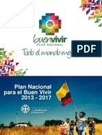 PRESENTACIÓN PLAN NACIONAL DEL BUEN VIVIR ECUADOR