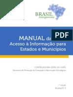 CGU - Manual LAI EstadosMunicipios