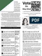 Armley Election Leaflet 2014