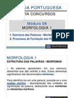 Módulo 08 - Morfologia 1 - Estrutura Das Palavras Morfemas