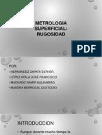 Metrología de La Formas(Rugosidad)