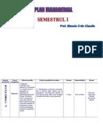 Plan Managerial SEM I 2013-2014
