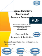 Organic Chemistry Reactions of Aromatic Compounds