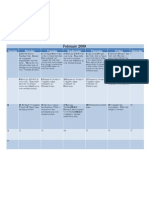 Weather Unit Calendar