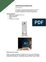 Peso Específico y Absorción Del Agregado Fino