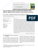 The Soil Organic Carbon in Particle-size Separates
