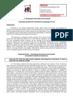 PPS 15 Consultation Rescue Response