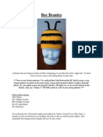 Bee Beanies (Newborn-Adult)