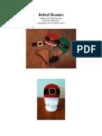 Belted Beanies - Pilgrim, Santa, & Leprechaun (Newborn-Adult)