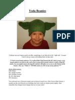 Yoda Beanies (Newborn-Adult)