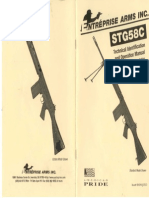 FN FAL Entreprise STG 58 Technical Identification Operation Manual