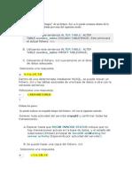 3.1.2. Definicion y Creacion Del Espacio Asignado Para Cada Base de Datos