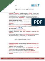 Copiar y Pegar y Imprimer Texto y o Imagenes de Internet y Pegarlo en Word
