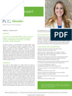 Rebecca L. Stanko, Ed.D., PCG Education Subject Matter Expert