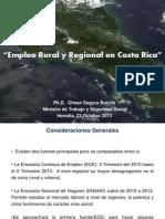 Empleo Rural y Regional en Costa Rica