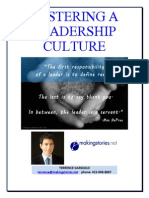 Fostering a Culture of Leadership