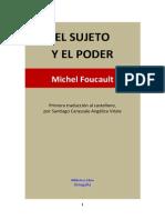 El Sujeto y El Poder - Michel Foucault