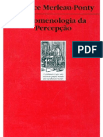 MERLEAU-PONTY, M. Fenomenologia Da Percepção (1)