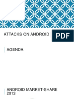 Attacks on Android