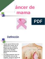 Cancer de Mama-octubre 2012(1)