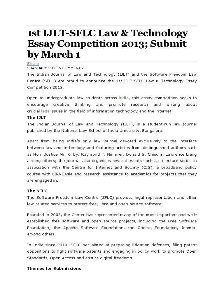 ijlt essay competition