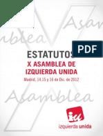 Estatutos Aprobados XAsambleaIU Def