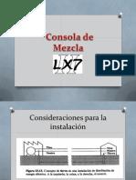 Consola de Mezcla