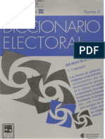 2000 IIDH Diccionario Electoral. Opinion Publica